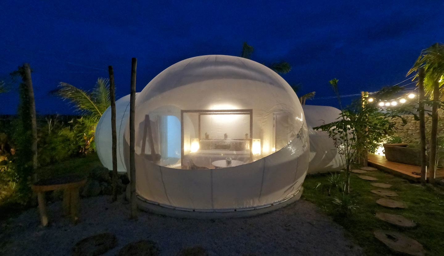 GREEN LAND BUBBLE GLAMPING
